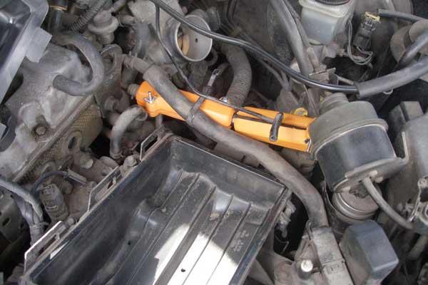 Примеры установки магнитного активатора топливаПлюс на автомоби